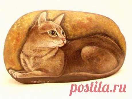 rockpaintingii: View Photo:Cat106