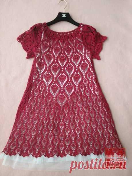 ********** *********** _ Изысканный ананаса юбка вязание крючком вязание жизни работы показывают _ форум