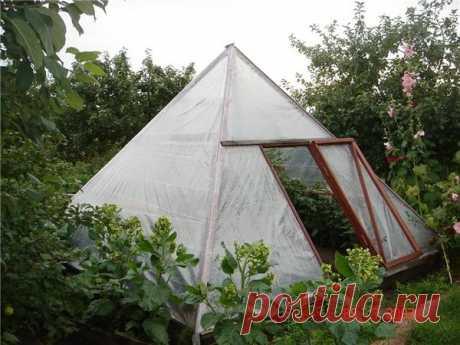 Теплица пирамида: особое энергетическое поле и небывалый урожай