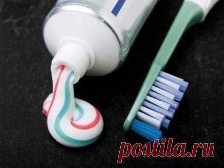 15 необычных свойств зубной пасты — Полезные советы