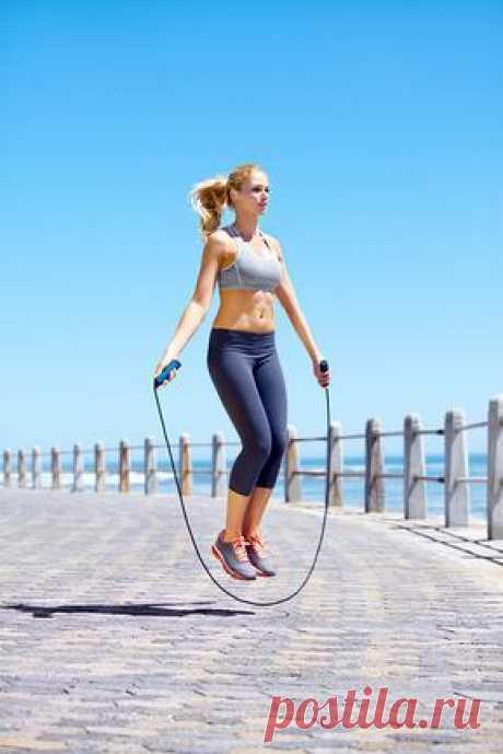 Прыжки со скакалкой - эффективный способ контролировать аппетит