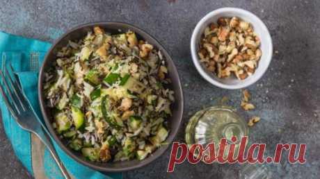 Рисовый салат с цукини, пошаговый рецепт с фото Рисовый салат с цукини. Пошаговый рецепт с фото, удобный поиск рецептов на Gastronom.ru