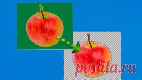 Как сделать прозрачный фон у картинки в powerpoint.