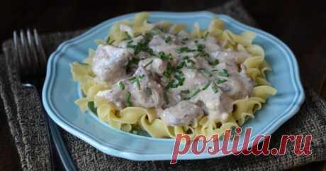 Куриные пупочки в сметане на сковороде и в духовке: пошаговые рецепты с фото и видео