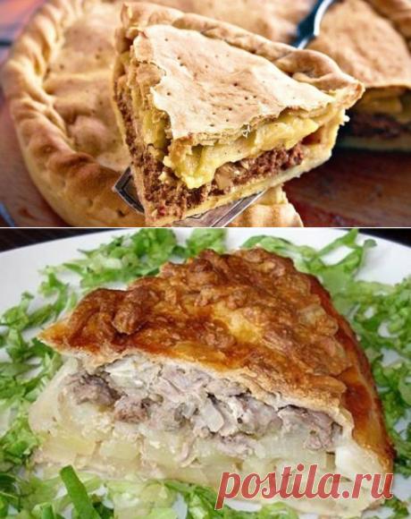 Пирог с картофелем и мясом «Кубете» - рецепт с фото / Простые рецепты