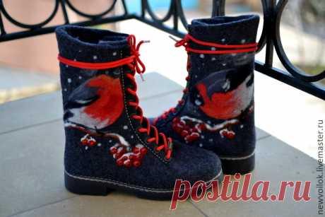 3e134ef6557f6 Купить Ботинки валяные женские