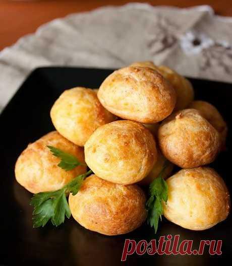 Сырные гужеры с перцем - Kulinarnyj-Recept.��