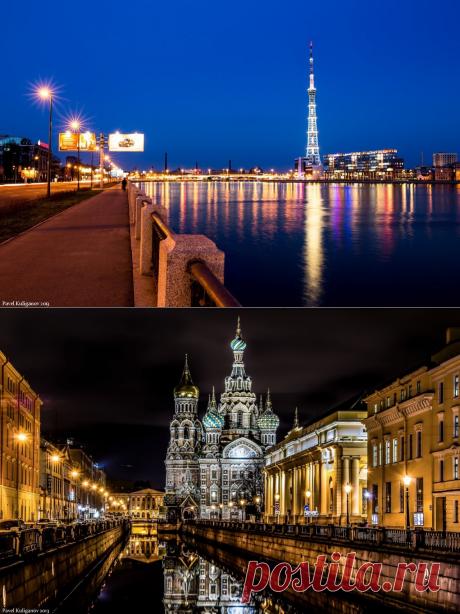 Ночной Санкт-Петербург - Путешествуем вместе