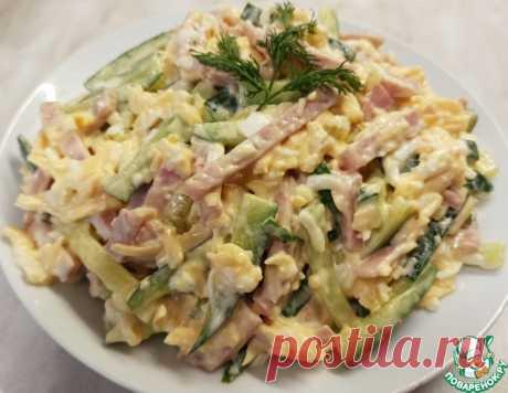 """Салат """"Неженка"""" – кулинарный рецепт"""