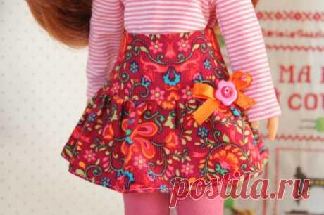 Cheries No. 9- трепал юбка * - Моя маленькая швейная школа ...