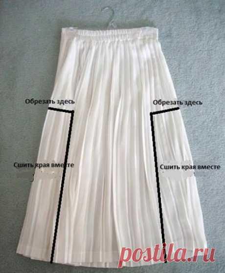 Как из юбки сделать сарафан, платье, блузку или другую юбку. 6 идей обновления вещей.   Провинциалка в теме   Яндекс Дзен