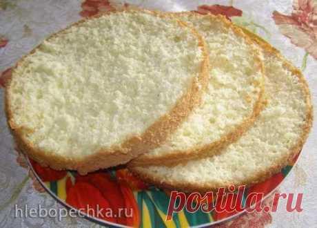 Ванильный бисквит на кипятке - уникальный рецепт и шикарный результат! | Четыре вкуса