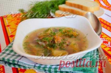 Суп из чечевицы в мультиварке-скороварке