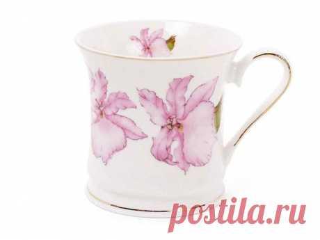 Чашка 375мл Рожевий ирис с золотою каймою 331-719 ТМ BONADI ОписРозміри: 375млМатеріал: Фарфор Упаковка: технічна упаковкаХарактеристики:Бренд:BONADIКраїна-виробник:Китай