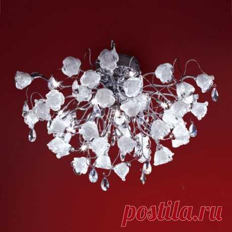 Люстра Citilux ROSA BIANCO EL325C15.1 по цене 55390 – купить в Москве в интернет-магазине / Fandeco.ru