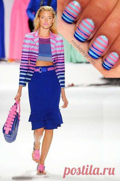 Y de nuevo la manicura a la imagen \/ los Detalles \/ el sitio A la moda sobre el rehacimiento de estilo de la ropa y el interior