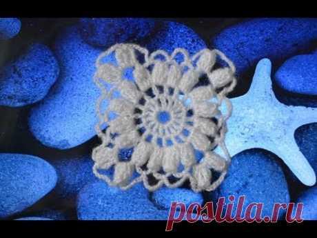 """Вязаный крючком квадрат для шали"" (Crochet square for shawls)"