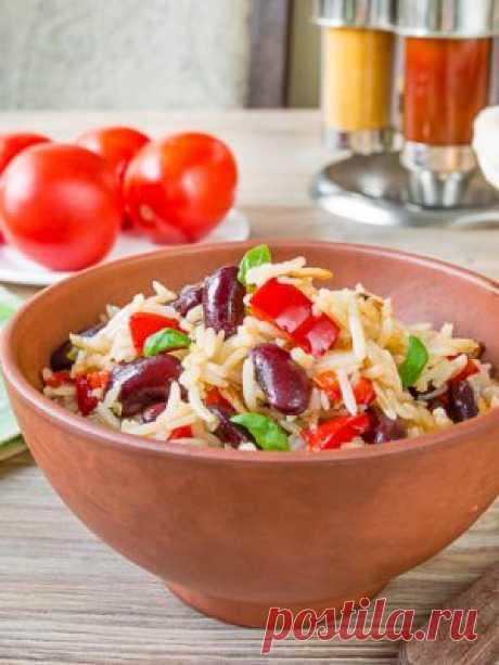 Рис со сладким перцем и фасолью: как приготовить - проверенный пошаговый рецепт с фото на Вкусном Блоге