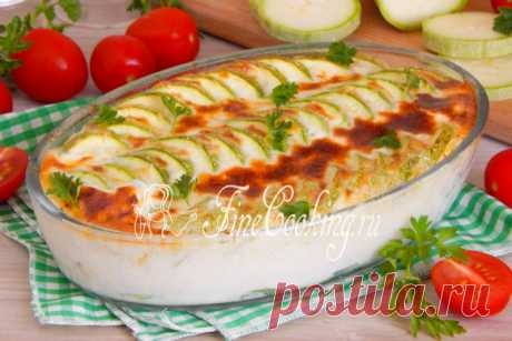 Запеканка из кабачков в духовке Рецепт кабачковой запеканки, которую мы приготовим из минимума доступных продуктов в духовке.
