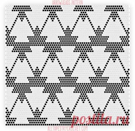 Arrowheads Pattern – All Tapestry Crochet