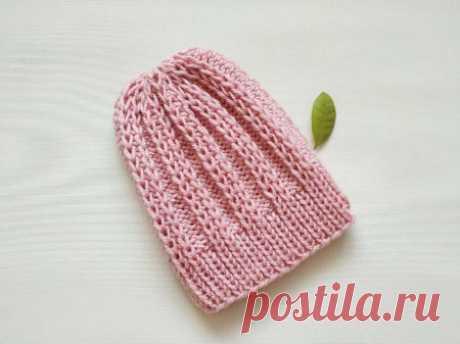 Как связать зимнюю шапку простым и красивым узором спицами » «Хомяк55» - всё о вязании спицами и крючком