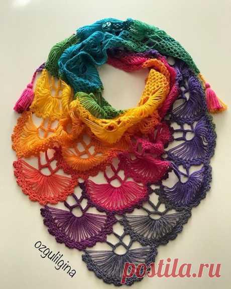 ergahandmade: Crochet Shawl + Video Tutorial