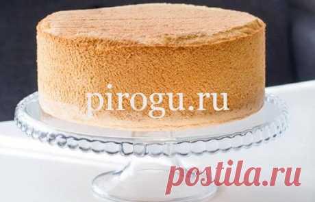Бисквит для торта пышный: простой рецепт в духовке