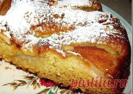 Вкуснейший грушевый пирог к вечернему чаю » В сети – себя просвети! - Развлекательный портал!