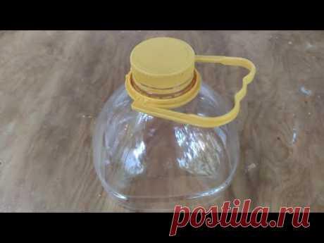 Не спешите выкидывать пятилитровые бутылки. 5 крутых идей их повторного использования