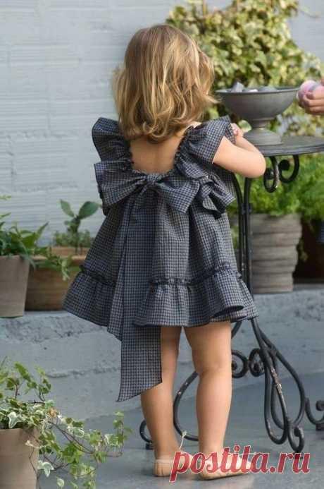Выкройка летнего платья для девочки на возраст от 1 до 14 лет (Шитье и крой) — Журнал Вдохновение Рукодельницы