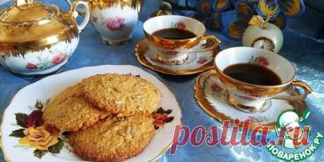 Кукурузно-овсяное печенье с семечками – кулинарный рецепт