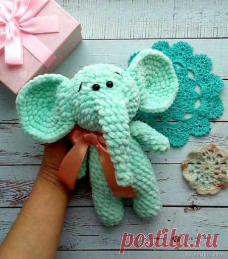 Поиск на Постиле: вязаные слоники