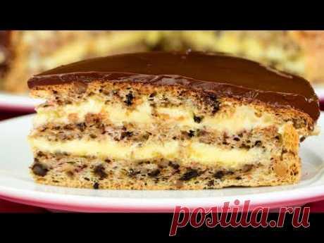 Рецепт самого вкусного орехового торта, покорит вас навсегда!   Appetitno.TV