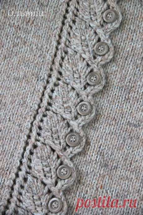 IDEA of the FASTENER (Lessons and MK of KNITTING) — the Inspiration of the Needlewoman Magazine