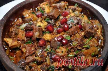 Кучмачи: грузинская классика — Sloosh – кулинарные рецепты