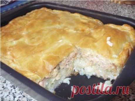 Рыбный пирог - Приготовим вкусно