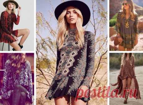 Бохо стиль: выкройки платьев, юбок, сарафанов, туники, блузы, кардигана, брюк для полных женщин… - Домоводство - медиаплатформа МирТесен