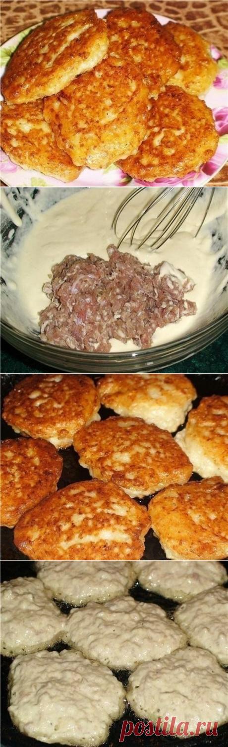 """Быстрые """"беляши"""" (или """"ленивые пирожки"""") - быстро и вкусно!"""