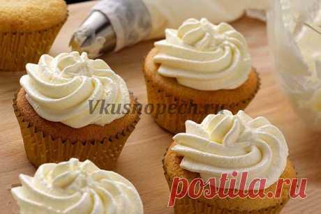 Крем для украшения торта, который хорошо держит форму - 8 лучших рецептов