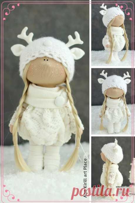 Unique Love Doll Interior Art Doll Tilda Gift Doll Nursery | Etsy