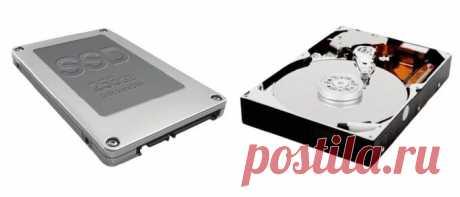 Как узнать диск SSD или HDD на компьютере — 7 способов