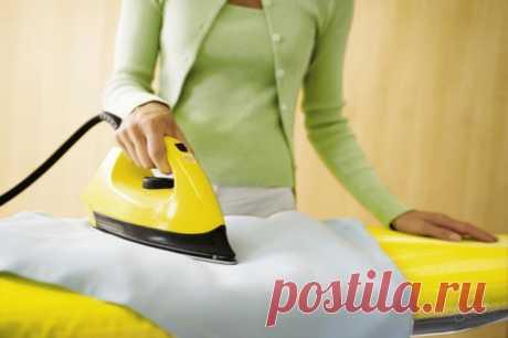 Как убрать лоск с одежды в домашних условиях — Полезные советы