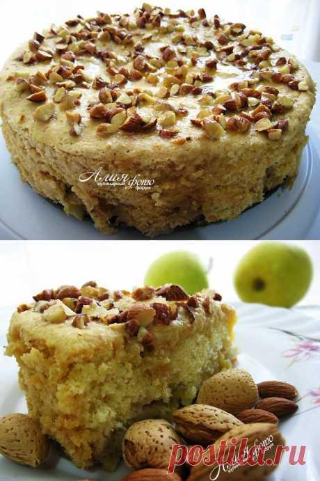 Мокрый яблочный пирог. Автор: Алия