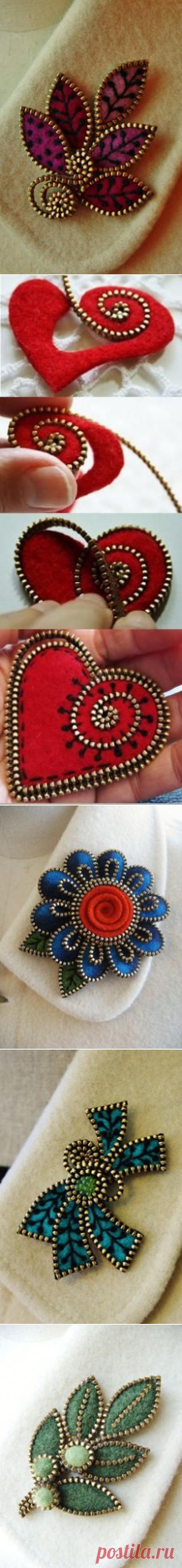 (23) felt and zipper | keçe işleri