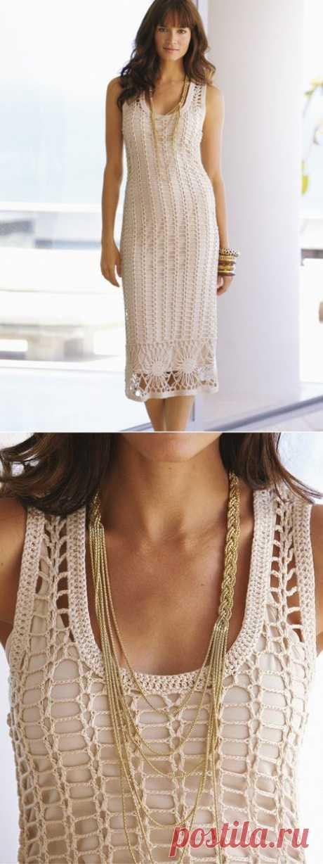 платье-сетка.