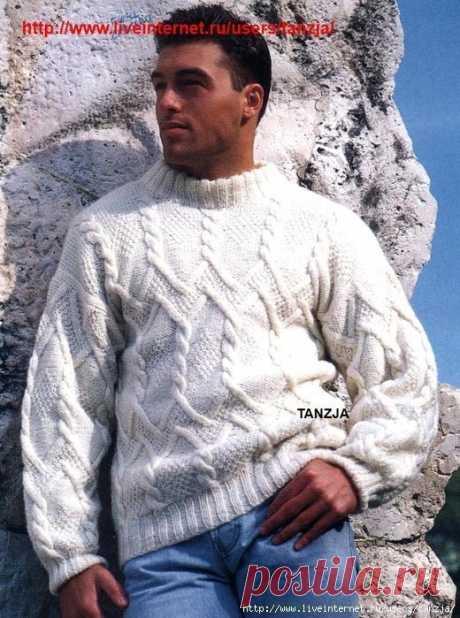 El jersey blanco de hombre por los rayos con la descripción y los esquemas