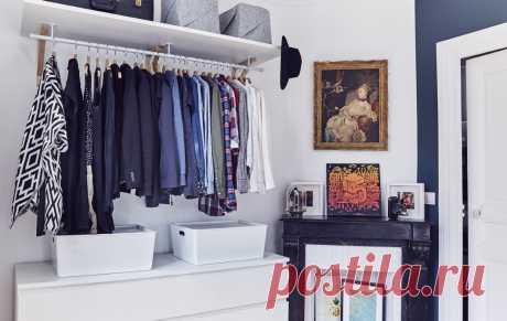 Идеи для хранения одежды