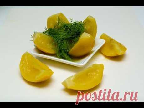 Блюда к Новому году - Марокканские соленые лимоны