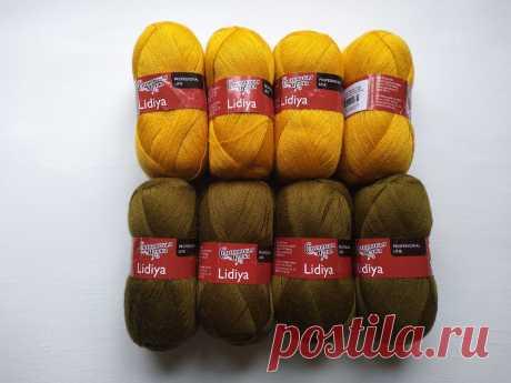 Купила тонкие нити. Связала свитер с градиентом цвета.   Handmade для всех   Яндекс Дзен