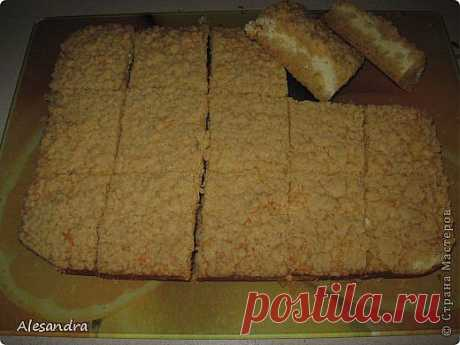 Песочное печенье с творогом.